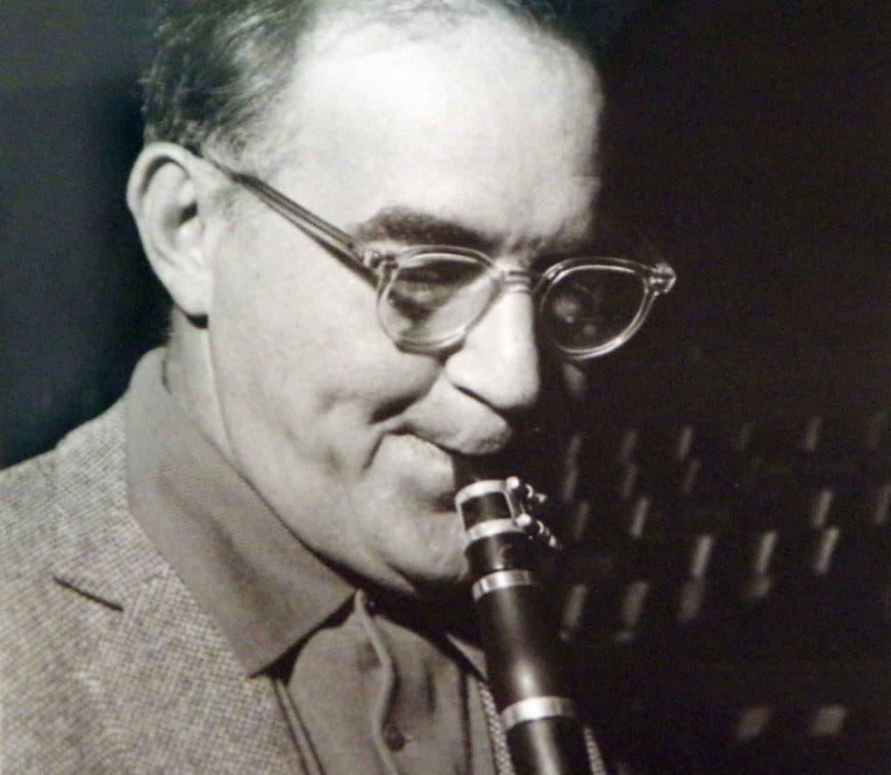 Benny Goodman, jazz clarinetist, at the Märkisches Museum in Berlin. (Mike Steele/Flickr)