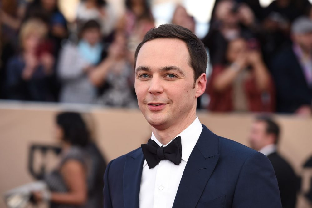 Jim Parsons arrives at the 22nd annual Screen Actors Guild Awards at the Shrine Auditorium & Expo Hall on Saturday, Jan. 30, 2016, in Los Angeles. (Jordan Strauss/Invision/AP)