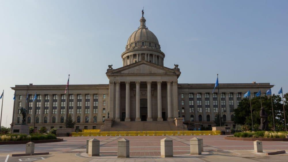 The Oklahoma State Capitol building in Oklahoma City, Oklahoma. (Steve/Flickr)