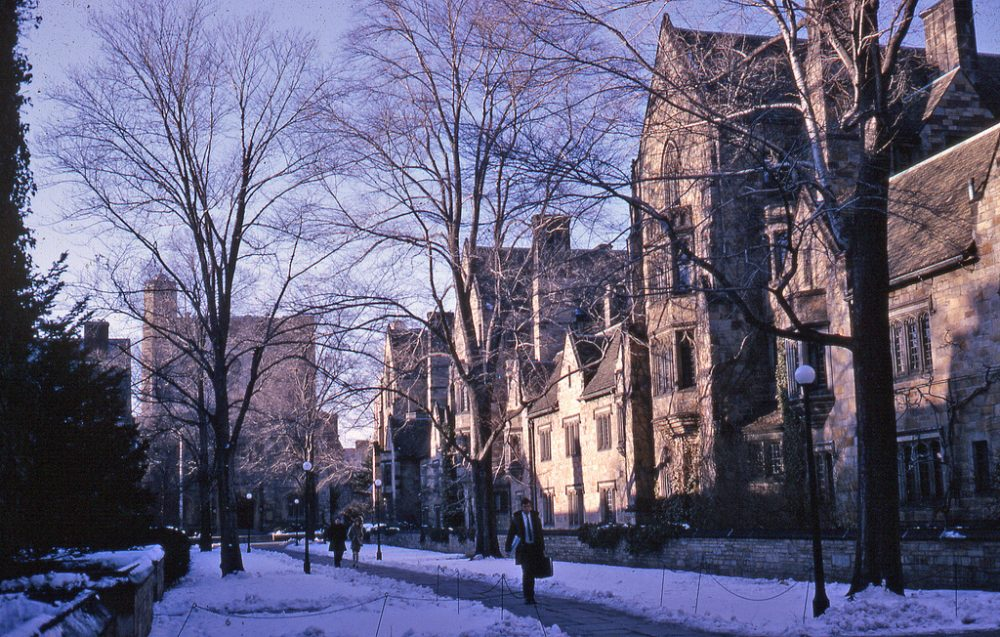 A sex scandal that happened at Yale University in the 1960s is largely forgotten. (Kent Kanouse/Flickr)