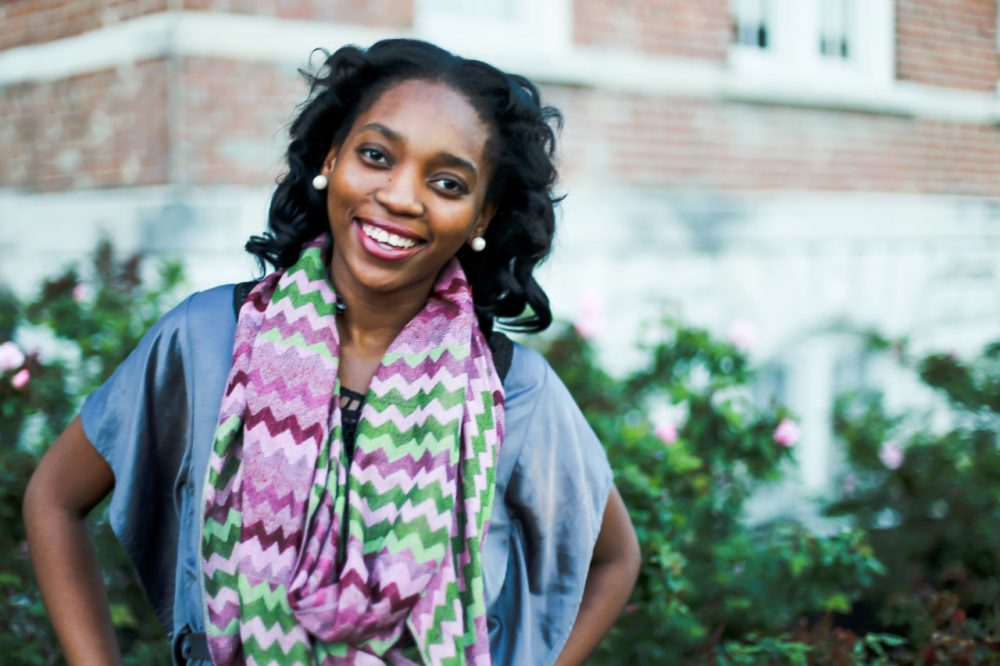 Peace Odiase, one of two valedictorians at Fisk University, a historically black college in Nashville, Tennessee. (Courtesy/Peace Odiase)