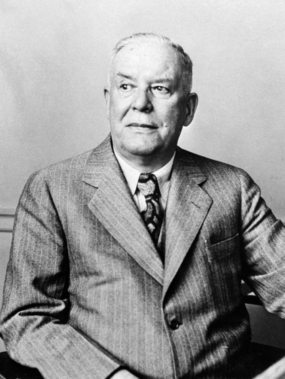 Poetry and National book award winner, Wallace Stevens. March 1951. (AP Photo)