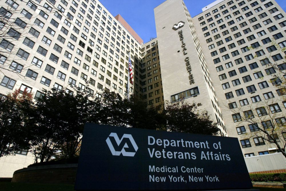 The exterior of the Veterans Affairs Hospital is seen November 10, 2003 in New York City. (Spencer Platt/Getty Images)