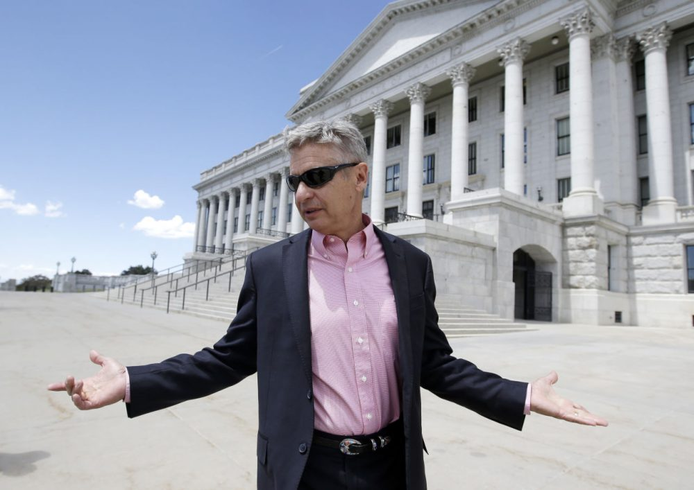 Libertarian candidate and former New Mexico Gov. Gary Johnson has joined forces with former Republican Massachusetts Gov. William Weld. (Rick Bowmer/AP)