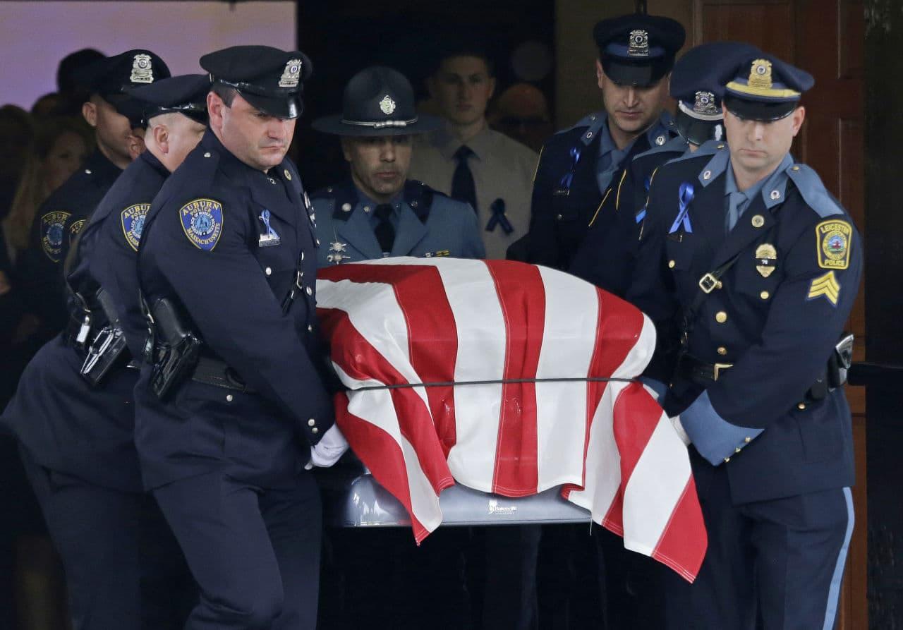 slain auburn police officer remembered for dedication generosity