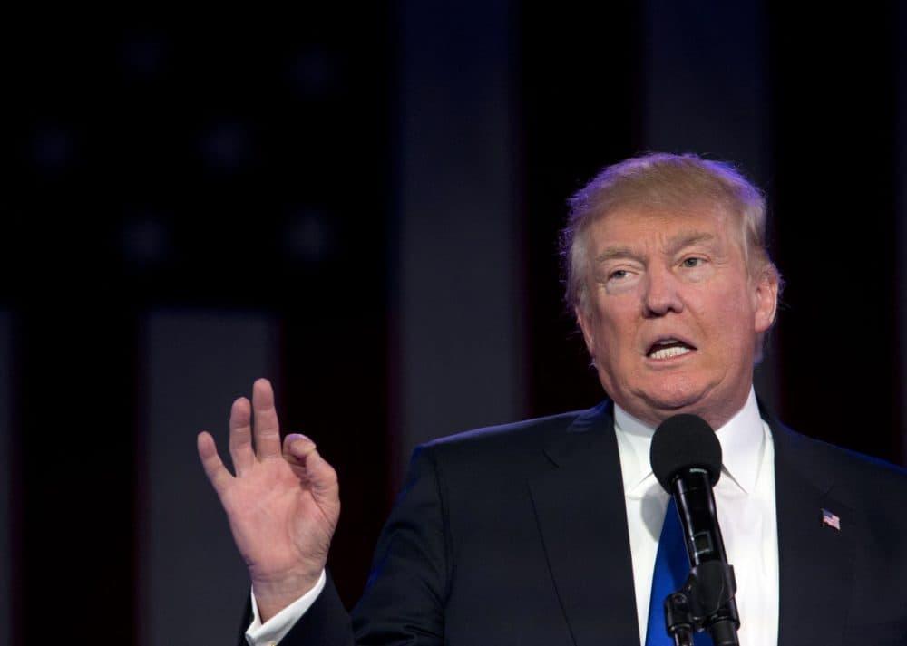 Donald Trump (Mary Altaffer/AP)
