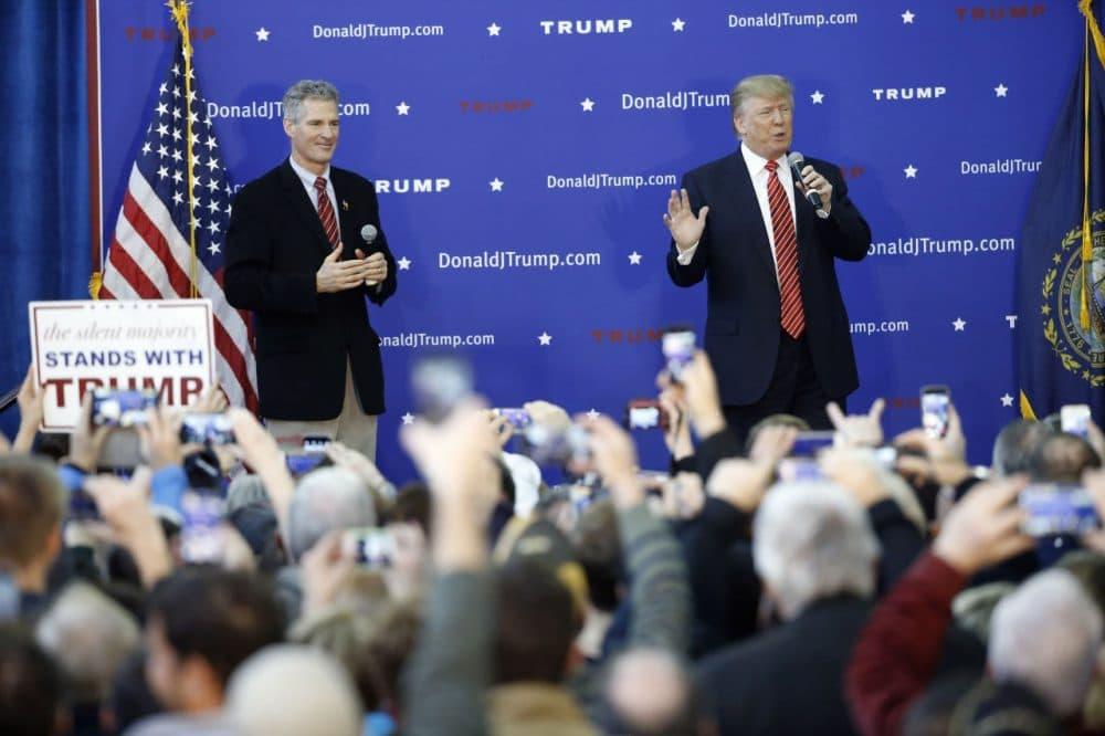 Might former Massachusetts Sen. Scott Brown be Donald Trump's vice presidential pick? (Matt Rourke/AP)