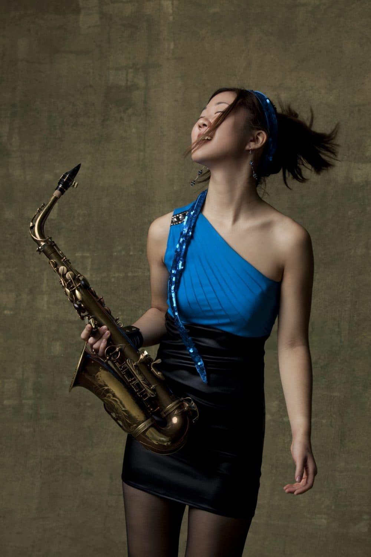 Grace Kelly, alto-saxophonist, singer and composer. (Photo/Taso Papadakis)