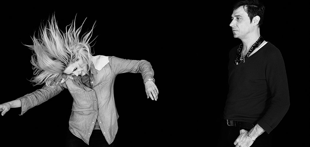 The Kills: Alison Mosshart and Jamie Hince. (Kenneth Cappello)