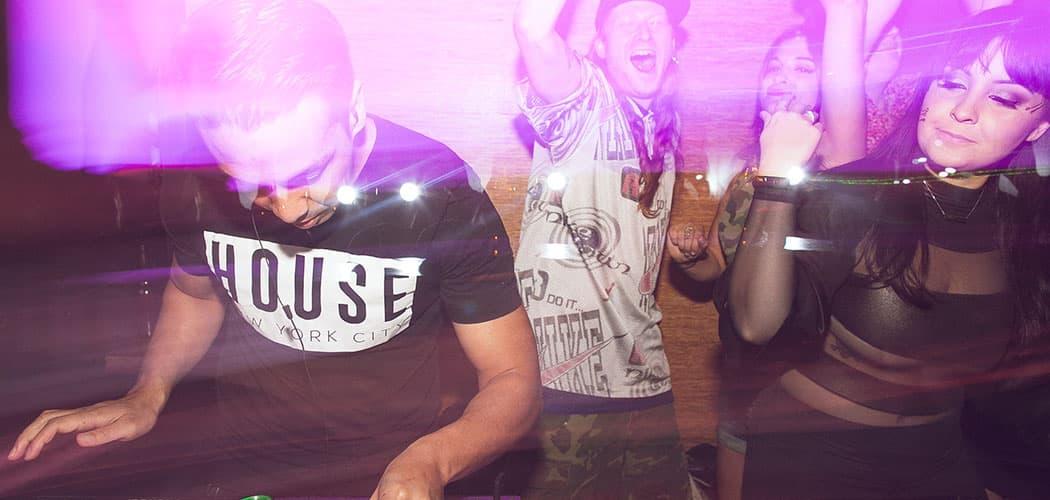 Laidback Luke DJs at the 2015 Together festival. (Nick Minieri)
