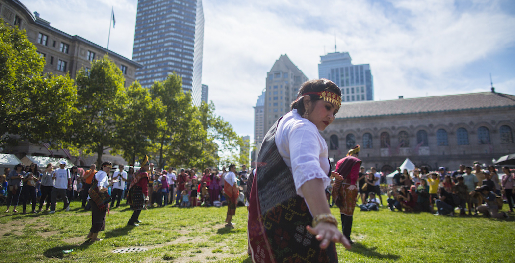 "New England Indonesian Festival in September 2015, photographed as part of Boston Creates by designated ""photographer-ethnographer"" Leonardo March. (Courtesy Leonardo March/Boston Creates)"