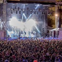 The September 2015 Boston Calling Music Festival at Boston's City Hall Plaza. (Mike Diskin)