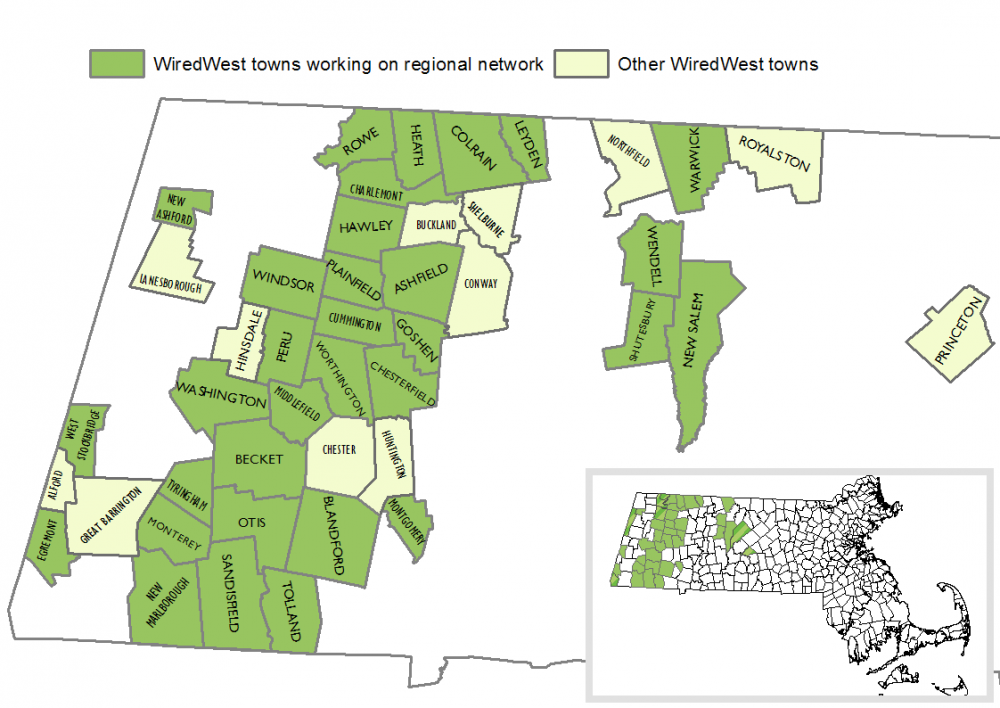 On August 13th, 2011, The WiredWest Cooperative was officially formed by charter member towns.(Courtesy WiredWest)