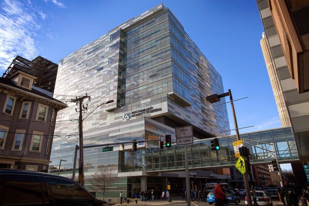 Brigham and Women's Hospital, Shapiro Center. (Robin Lubbock/WBUR)