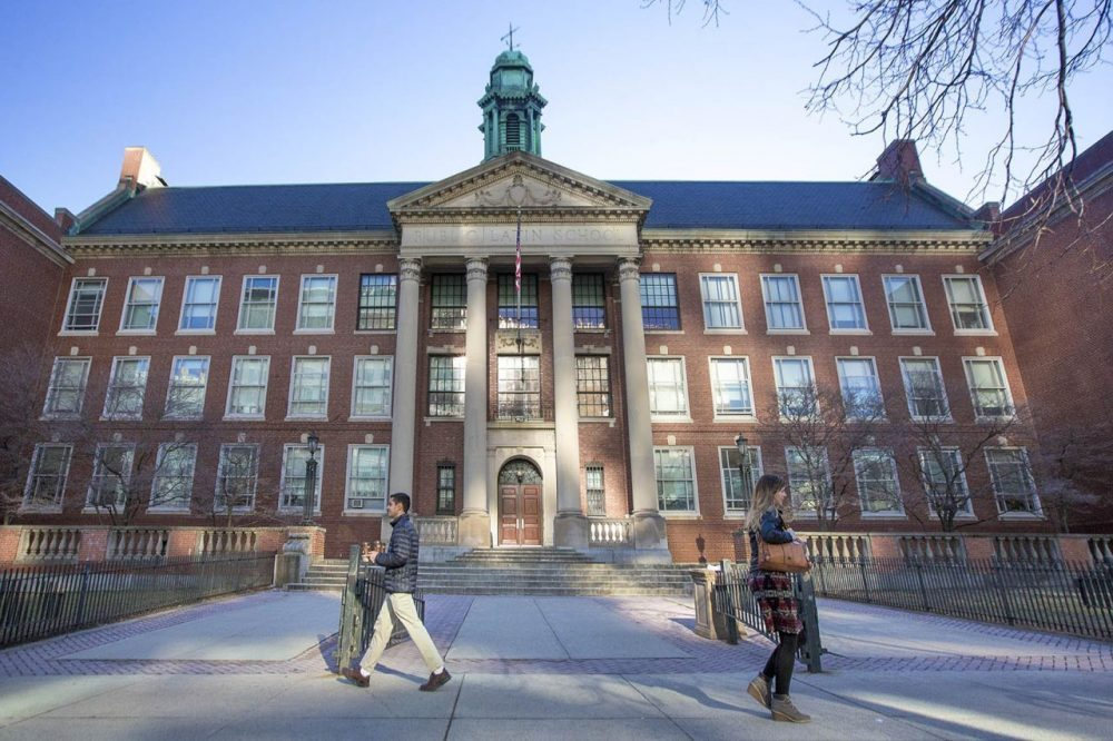 The Boston Latin School. (Jesse Costa/WBUR)
