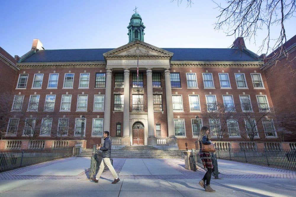 The Boston Latin School. (Jesse Costa/WBUR)