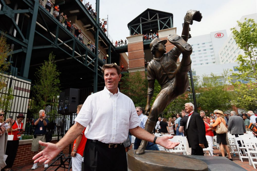 Jim Palmer's new book  is titled Jim Palmer: Nine Innings to Success (Rob Carr/Getty Images)