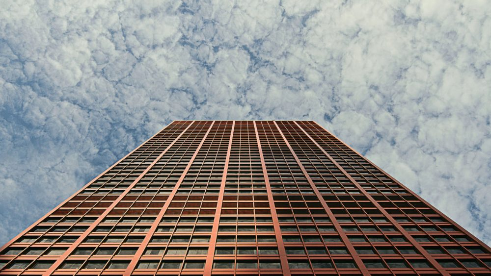 An office building in Chicago. (Flickr/Creative Commons, @vonderauvisuals).