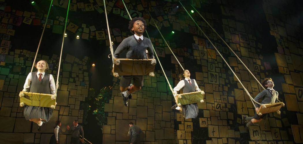 """Matilda: The Musical"" comes to Boston this summer. (Courtesy of Joan Marcus)"