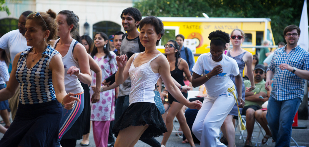 A performance during Dance for World Community 2015. (Courtesy Charles Daniels/Jose Mateo Ballet Theatre)