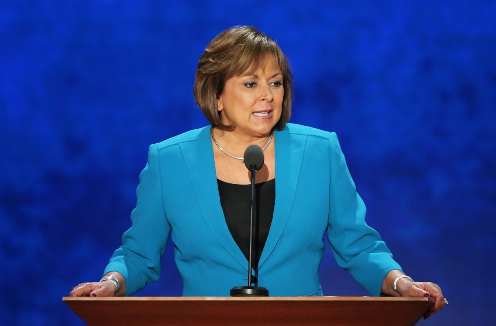 New Mexico Gov. Susana Martinez speaks during the third day of the Republican National Convention at the Tampa Bay Times Forum on August 29, 2012 in Tampa, Florida. (Mark Wilson/Getty Images)