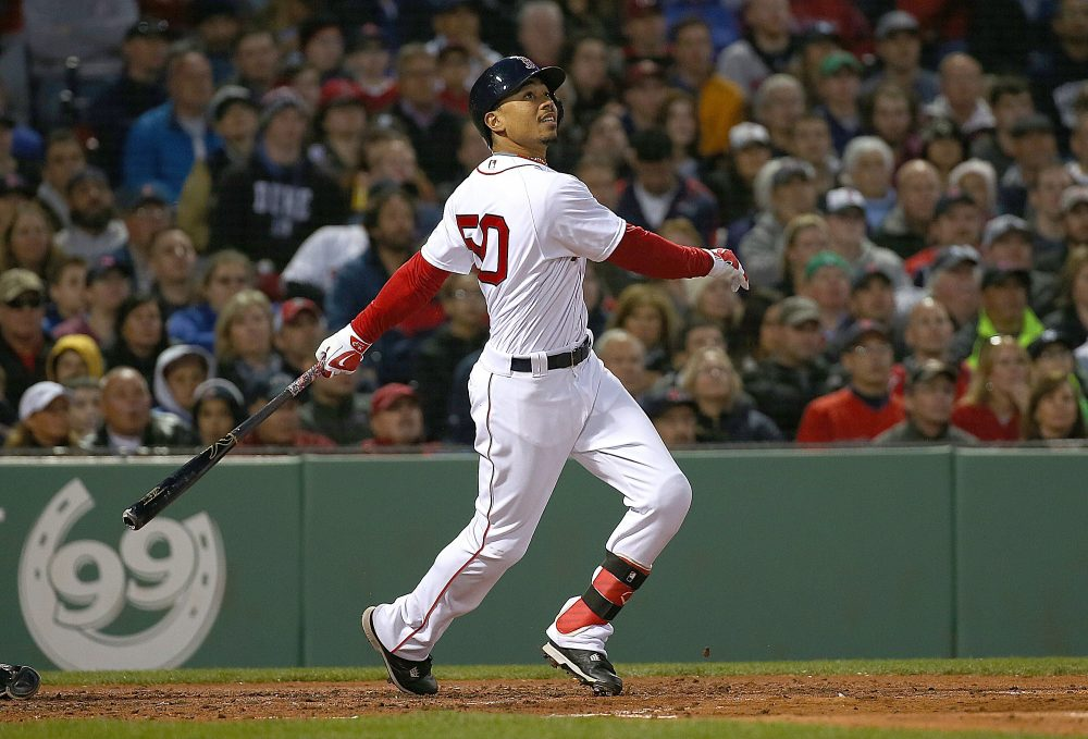 Mookie Betts is crushing the ball this year, but where does he fit into the all-time Mookie rankings? (Jim Rogash/Getty Images)