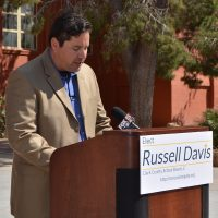 Russell Davis is running for a position on the school board in Nevada's Clark County. Among the tenets of his platform are mandatory personal finance classes, nutrition education... and a ban on high school football.