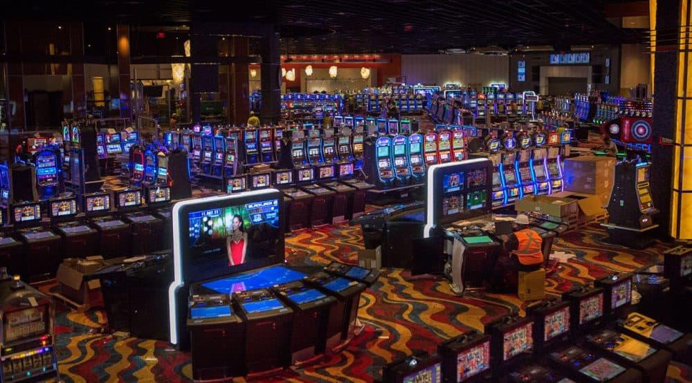 A view of Plainridge Park Casino, the state's lone slots parlor. (Jesse Costa/WBUR)