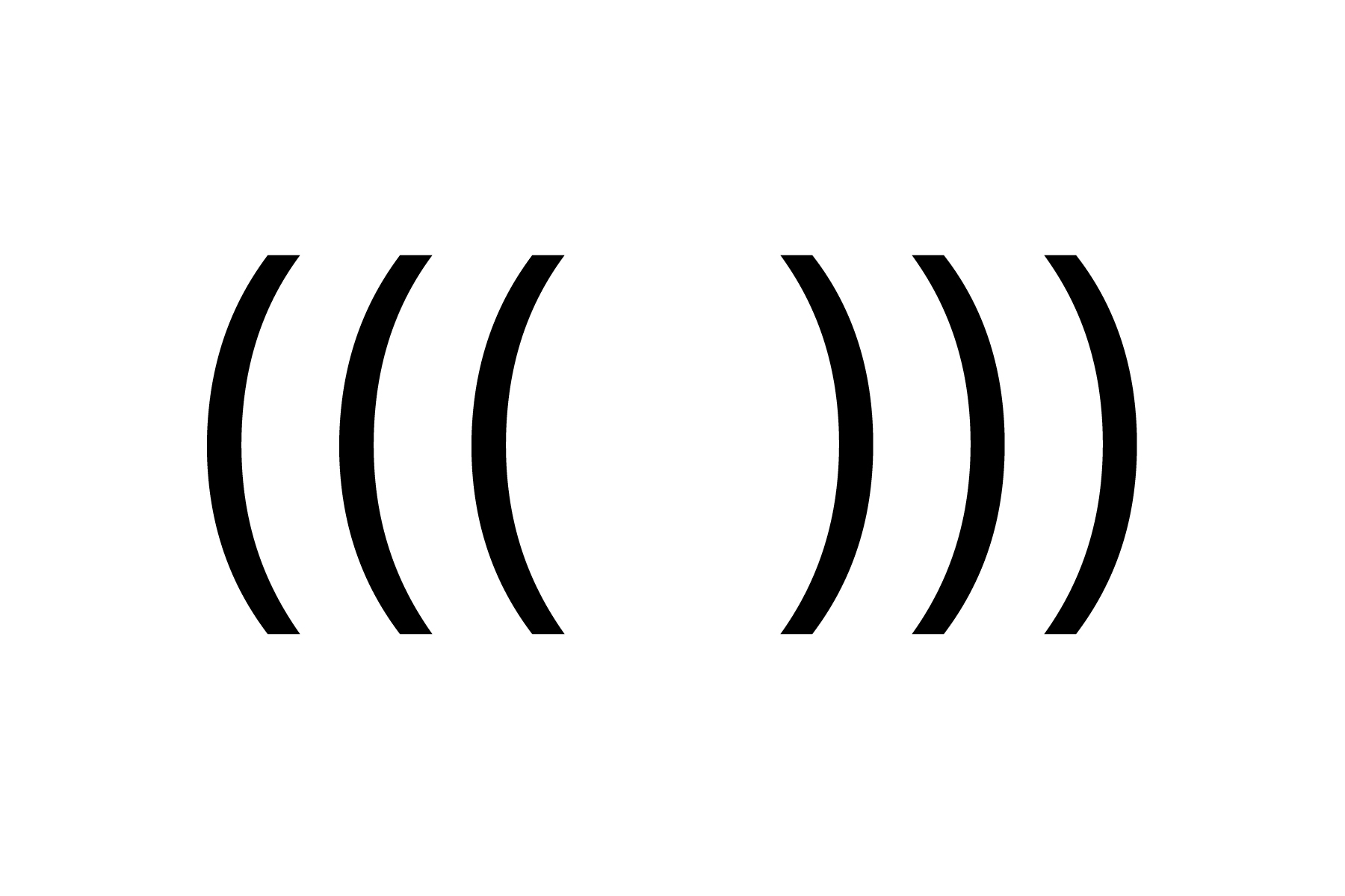 The echo symbol. (Here & Now)