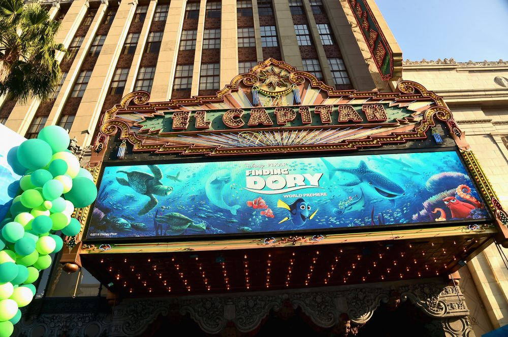 A view of the atmosphere at The World Premiere of Disney-Pixar's FINDING DORY on Wednesday, June 8, 2016 in Hollywood, California.  (Alberto E. Rodriguez/Getty Images for Disney)