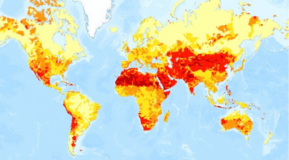 Mapping Drought And Water Stress From Arizona To Zimbabwe Here Now