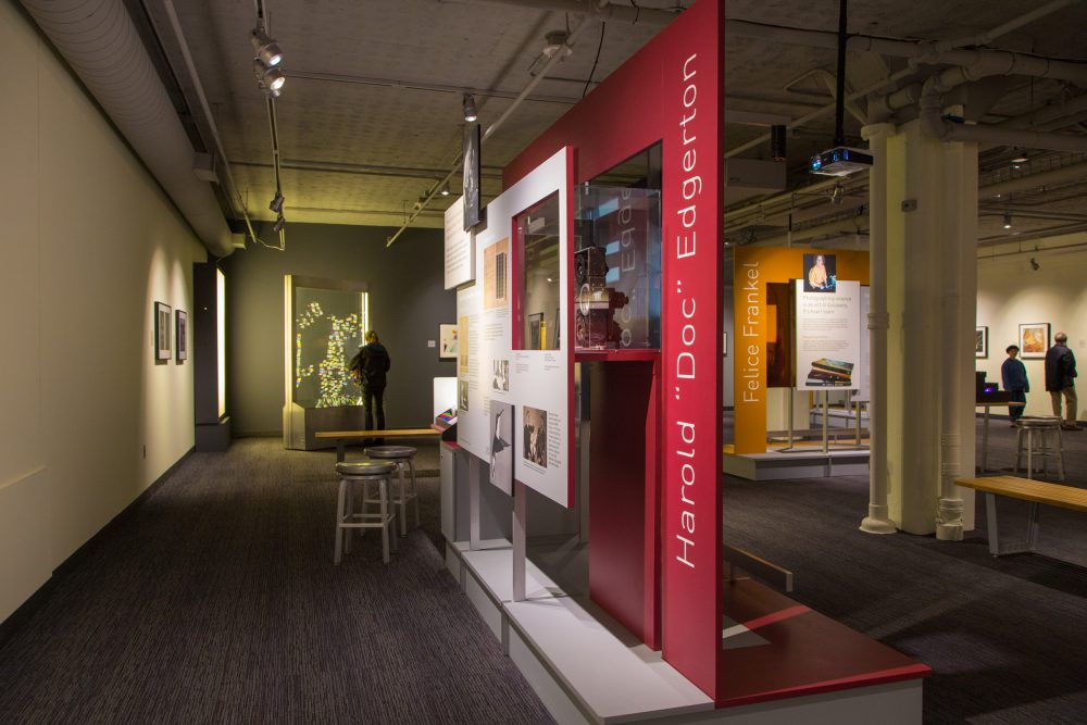 A view of the exhibition at the MIT Museum. (Courtesy of the MIT Museum)