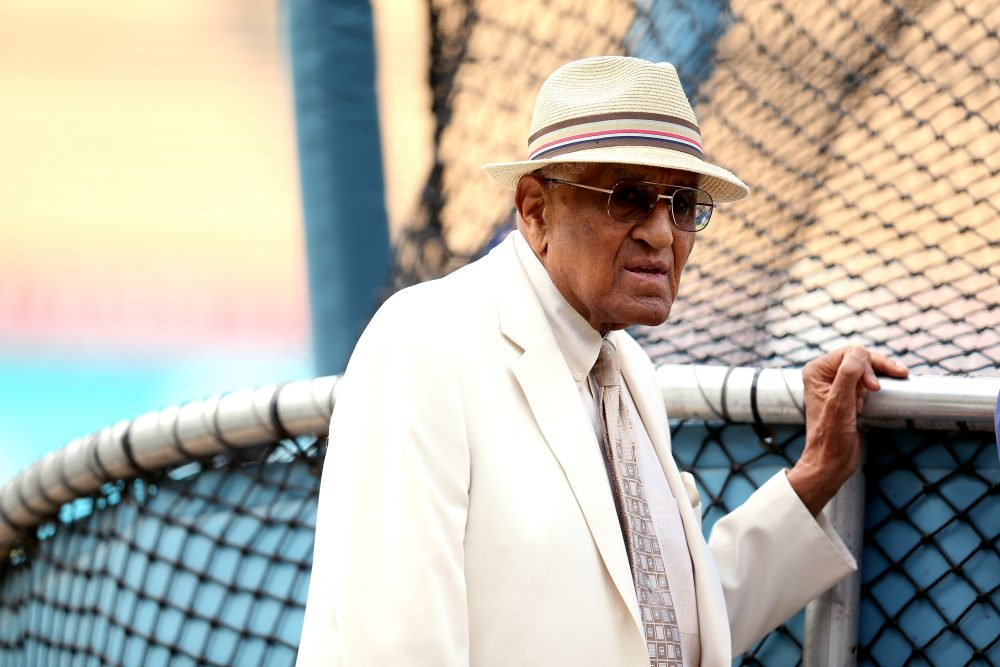 A new book by Sarah Fields tells the story of Don Newcombe's fight for control of his image. (Stephen Dunn/Getty Images)