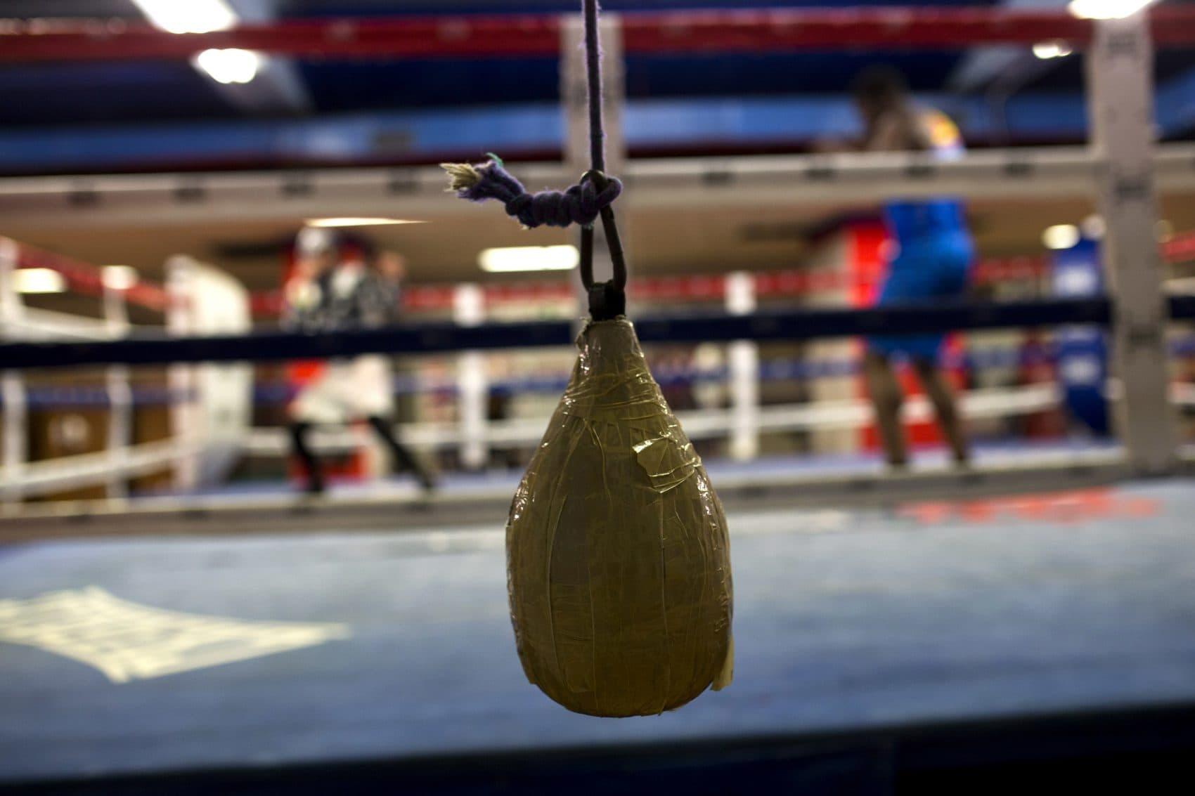 """I had this fierce desire to make something of me life,"" boxer Tony Moran says. (Francisco Seco/AP)"