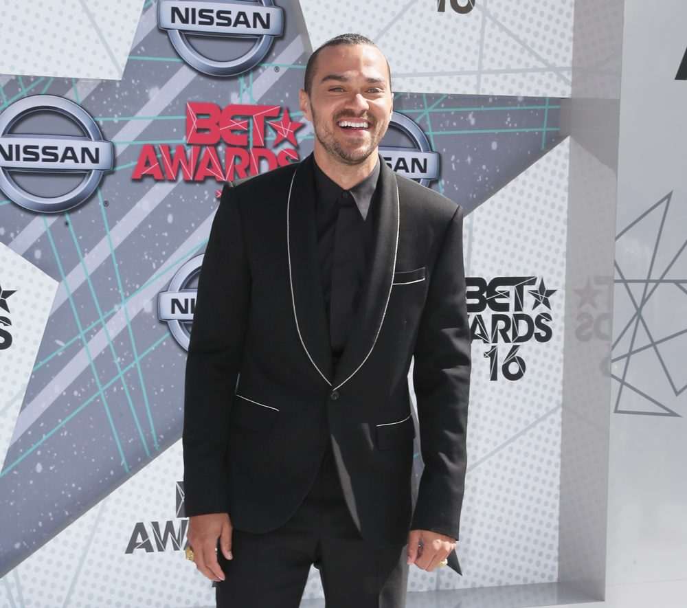 Actor Jesse Williams attends the 2016 BET Awards at the Microsoft Theater on June 26, 2016 in Los Angeles, California.  (Frederick M. Brown/Getty Images)