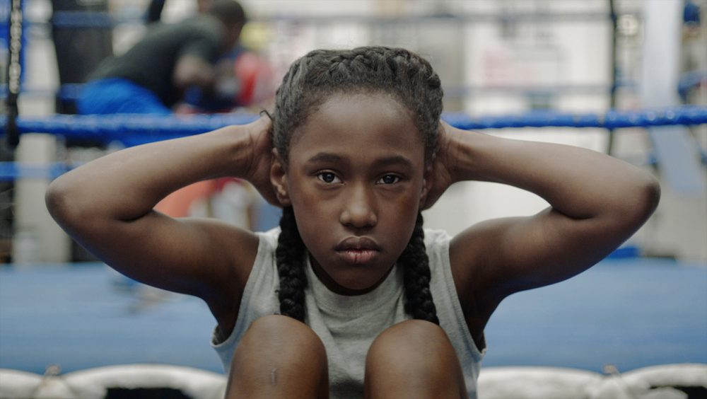 "Royalty Hightower, in her role as Toni in the new film ""The Fits."" (Courtesy/The Fits Film)"