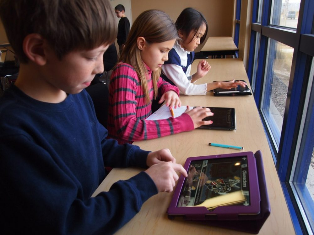 Massachusetts now has voluntary standards for digital literacy and computer science, which include the use of tablets and other devices in grades K-12. (Lexie Flickinger/Flickr)
