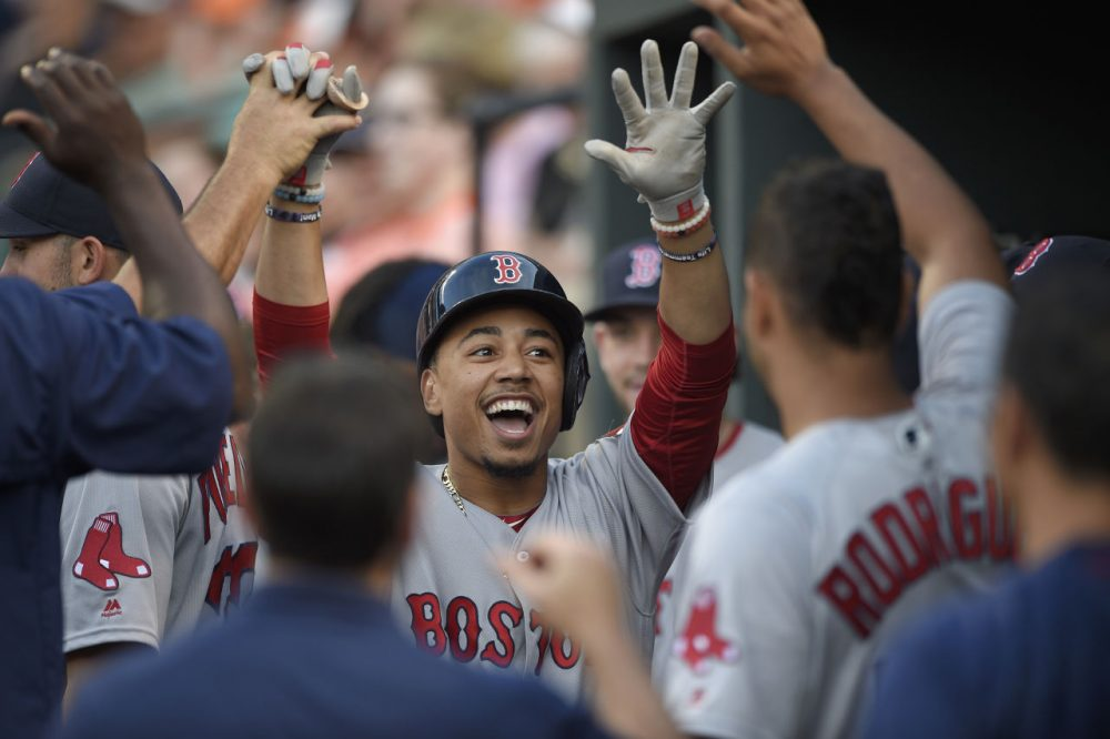 BoSox's Betts beats out AL field for MVP