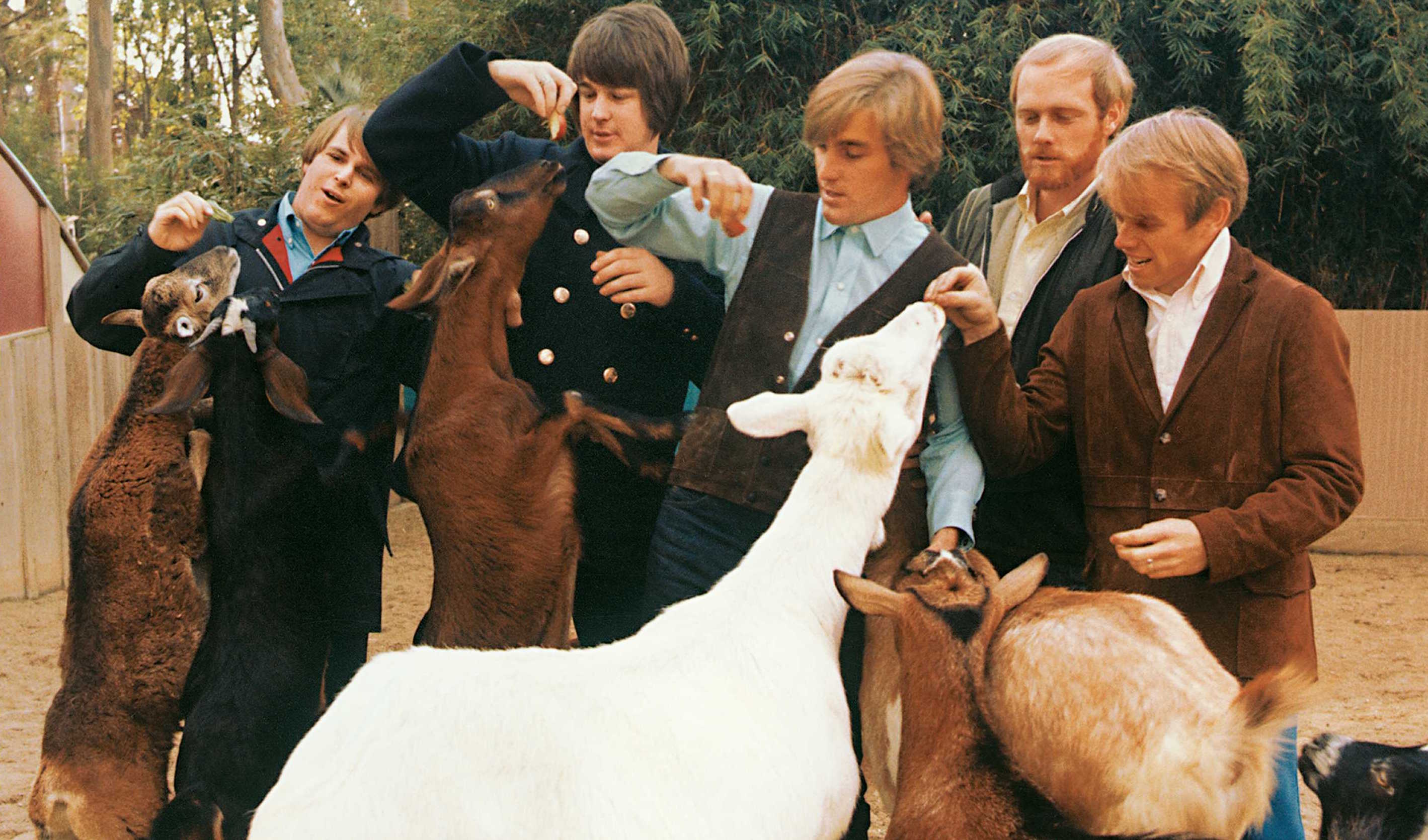 """A photo of the Beach Boys from the cover of their """"Pet Sounds"""" album. (Courtesy Capitol Photo Archives)"""
