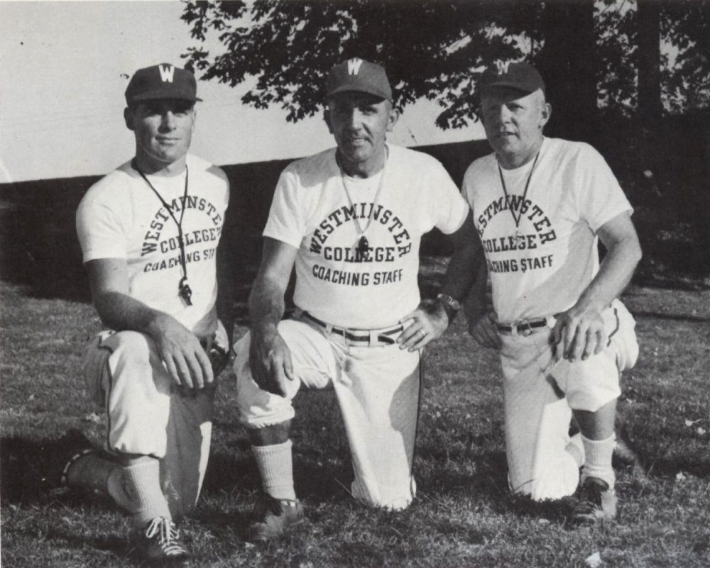 Dick Bestwick's 1964 Westminster College football team went undefeated, and his coaching philosophy still resonates fifty years later. (Courtesy of Hilary Niles)