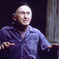 """Actor Alvin Epstein, seen in a 1997 production of """"When the World Was Green (A Chef's Fable)"""" at the American Repertory Theater. (Courtesy American Repertory Theater)"""