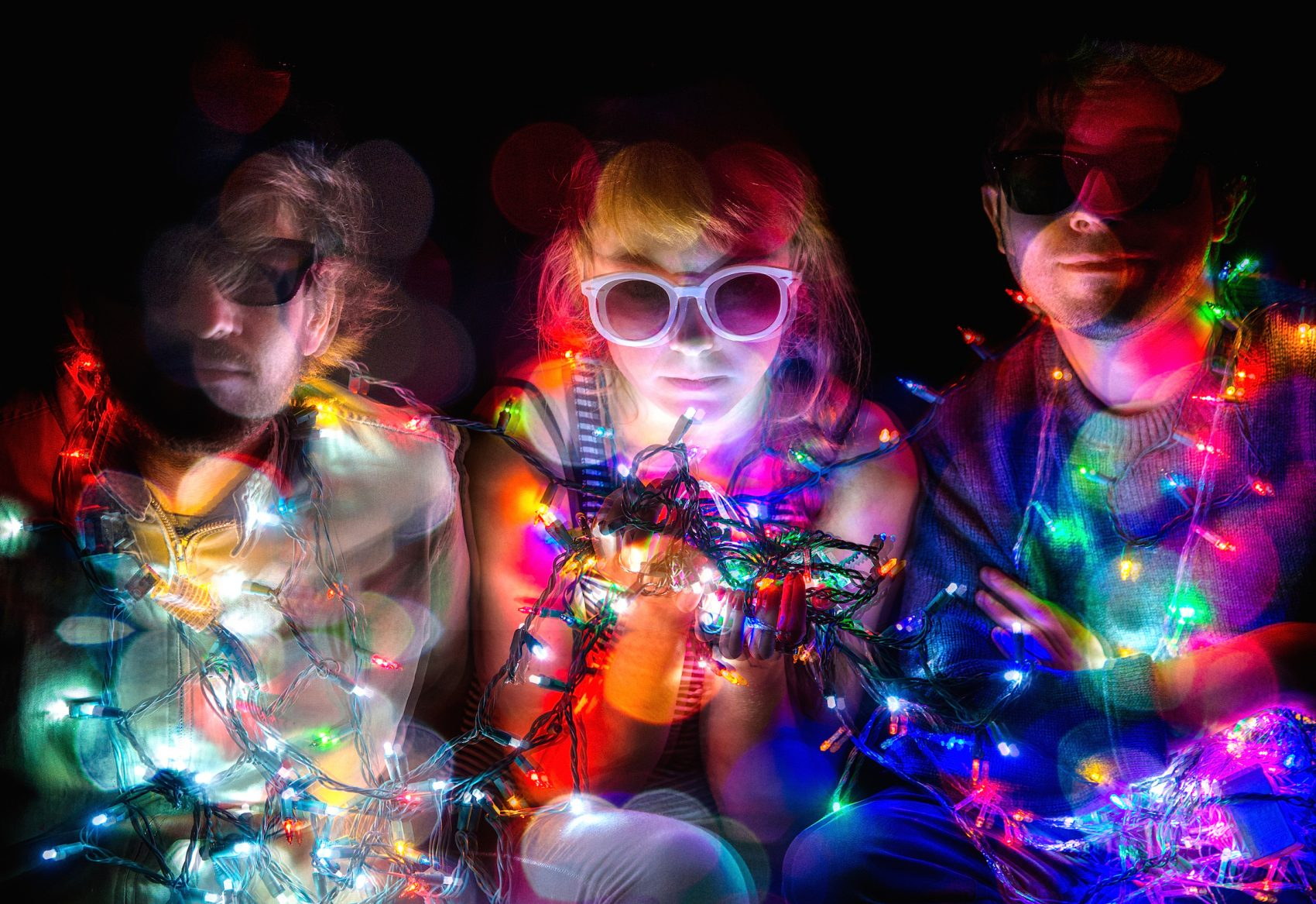 The electro-punk band Guerilla Toss. (Courtesy Walter Wlodarczyk)