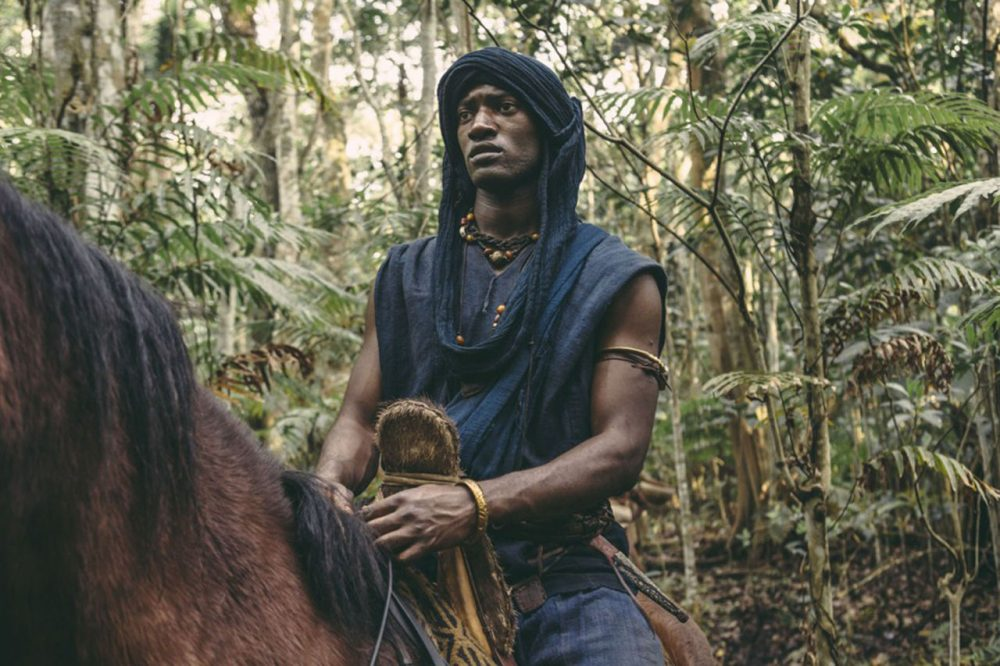 """In the History Channel remake of the 1977 miniseries """"Roots,"""" , Malachi Kirby stars as Kunta Kinte. (Courtesy History Channel)"""