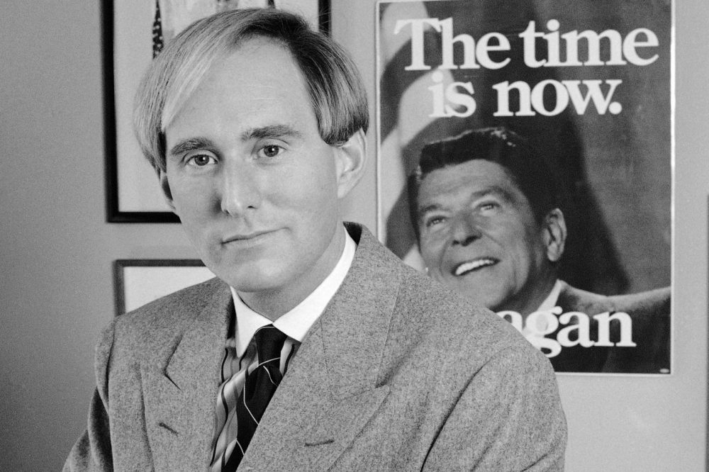 In this archive photo, Roger Stone, a political consultant for Campaign Consultants Inc., appears in his Washington D.C. office, Nov. 24, 1987 (AP Photo/Tom Reed)