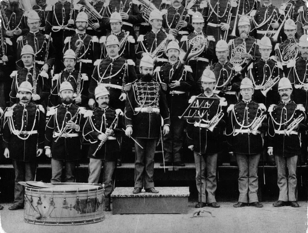 """The USA Marine Band with conductor John Philip Sousa, who wrote """"The Stars and Stripes Forever"""" as well as numerous marches, waltzes and songs. (Keystone/Getty Images)"""