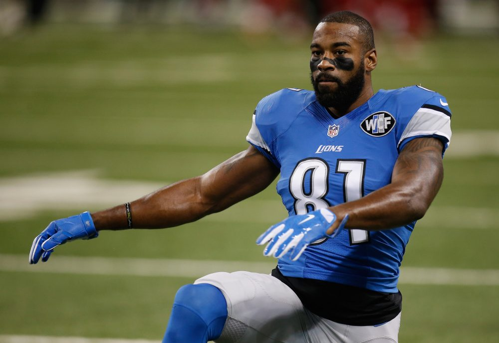 Calvin Johnson dominated defenses for nine years, but stepped away from the game to preserve his already-damaged health. (Gregory Shamus/Getty Images)