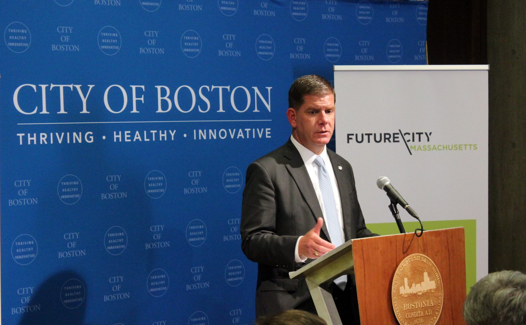Mayor Marty Walsh (Michael Hagerty for WBUR)