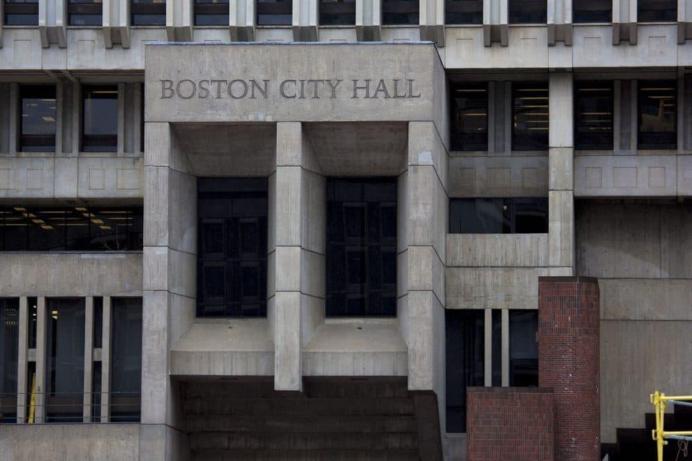 Boston City Hall. (Jesse Costa/WBUR)