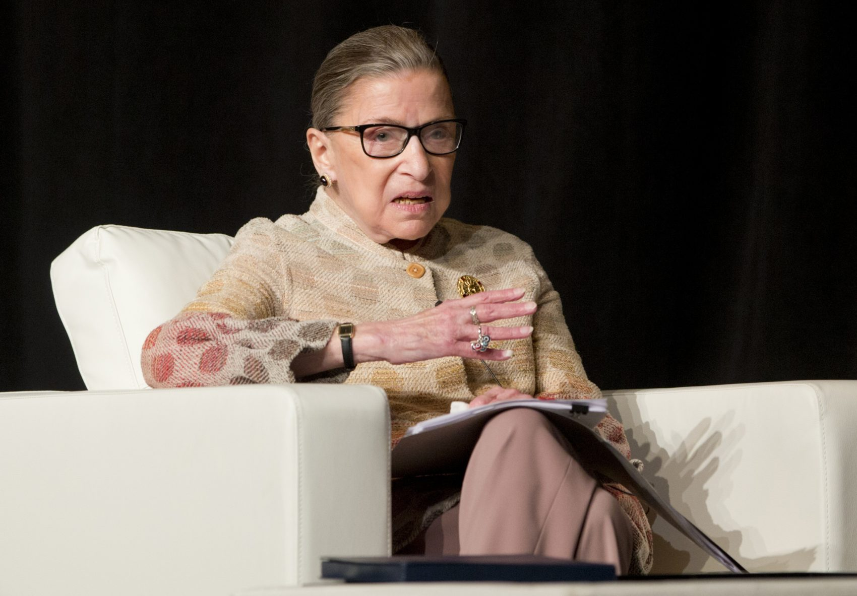 Ruth Bader Ginsburg And Donald Trump Trade Verbal Blows