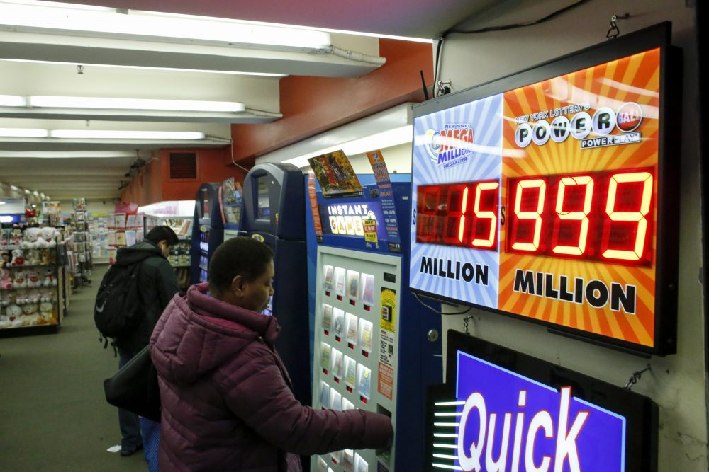 Online lottery games may be coming to Massachusetts. (Kena Betancur/AFP/Getty Images)